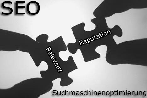 Suchmaschinenoptimierung (SEO) - Kriterien Relevanz und Reputation